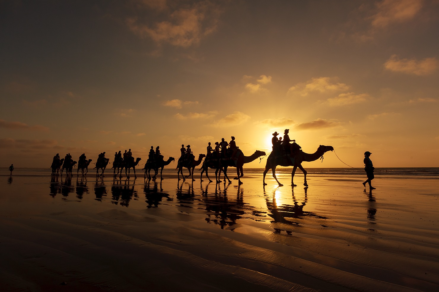 Camels and Cable Beach Broome