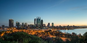 Kings Park provides a unique perspective of the City of Perth