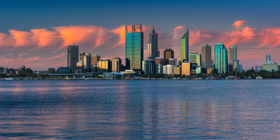 Perth City Skyline 2012