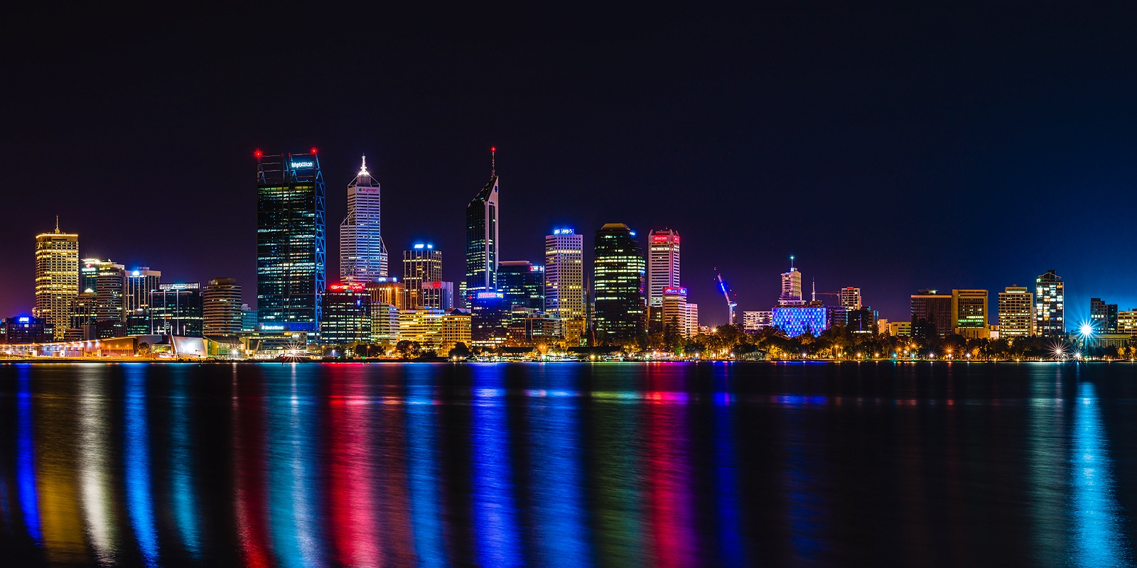Perth City Skyline 2013