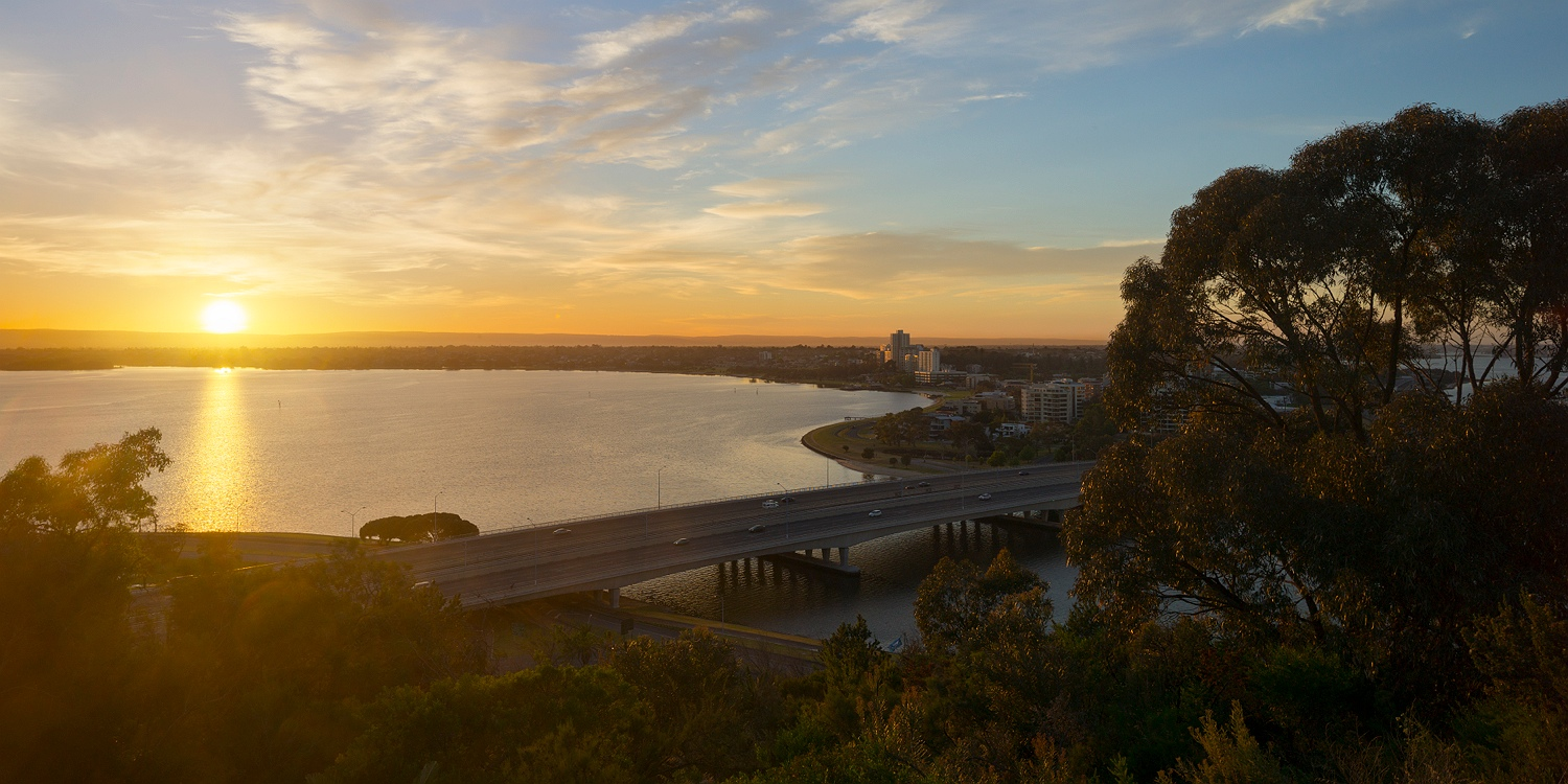 sunrise_swan_river_south_perth