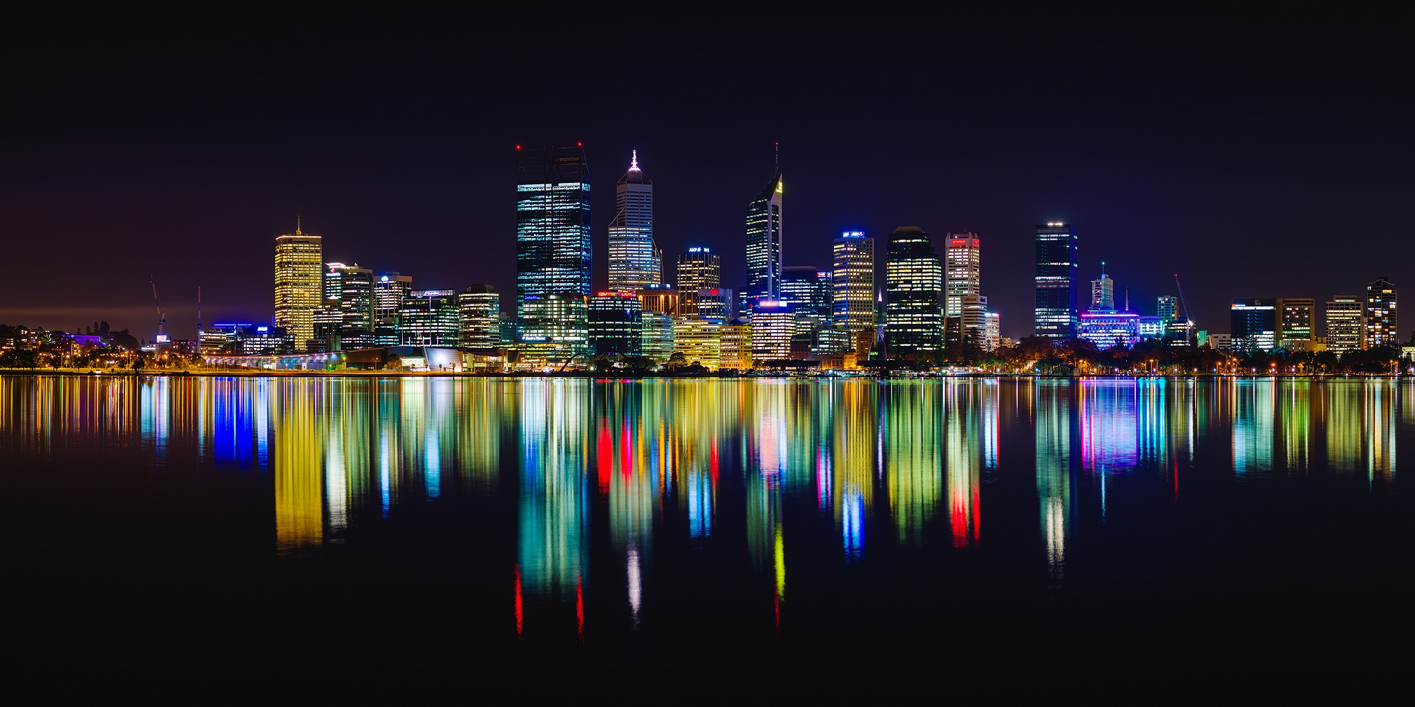 Perth City Skyline 2015