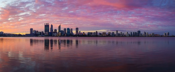 Perth City Skyline 2015 Panorama