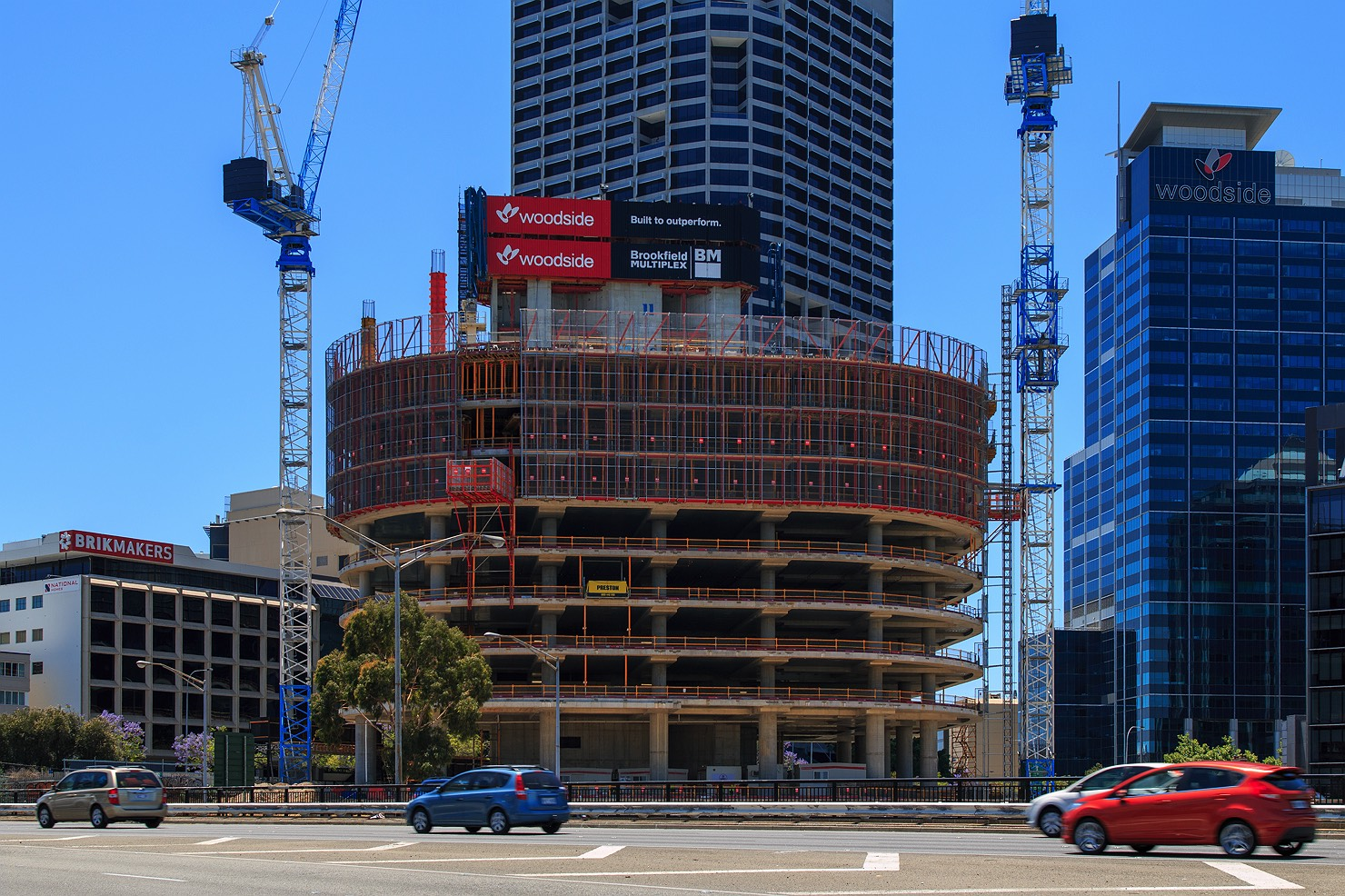 Cbd to approved capital square 150m 130m 116m for Pool show 2015 perth