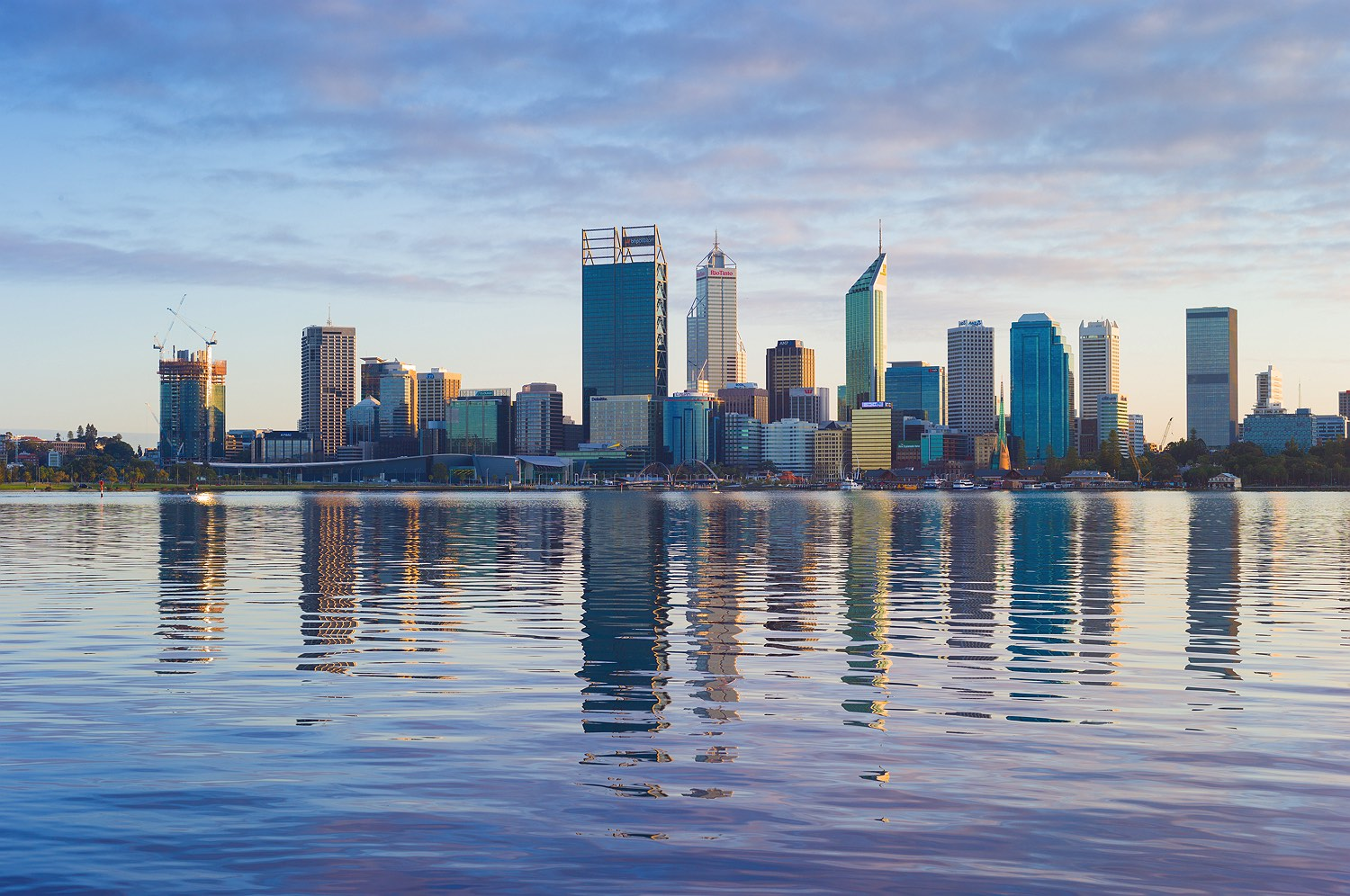Perth City Skyline 2016