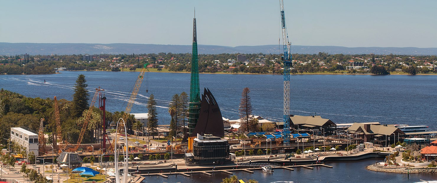 February 2017 Ritz Carlton at Elizabeth Quay construction update