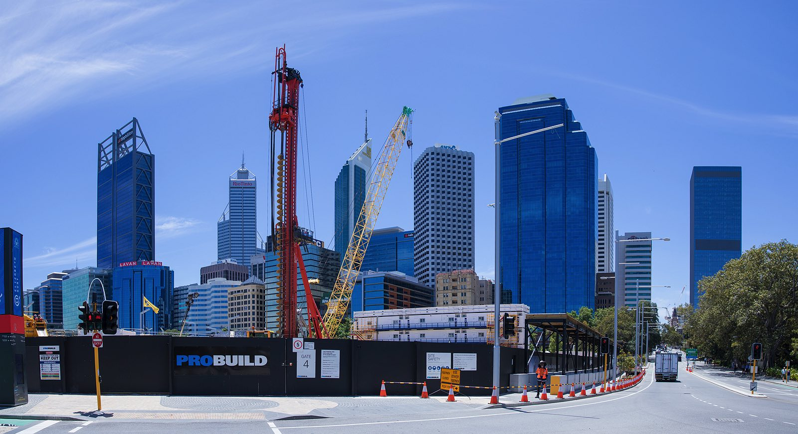 November 2016 Ritz Carlton at Elizabeth Quay construction update