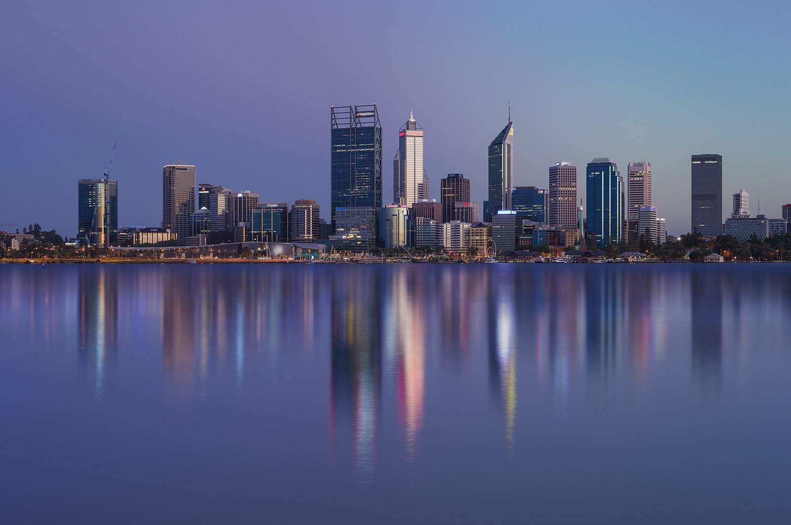 Perth City Skyline 2017