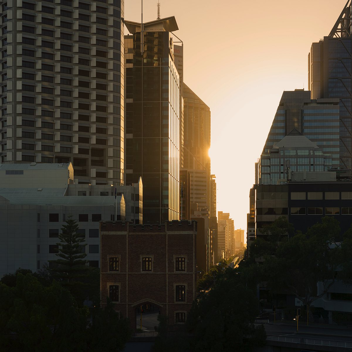 st-georges-terrace-sunrise-perth-2017
