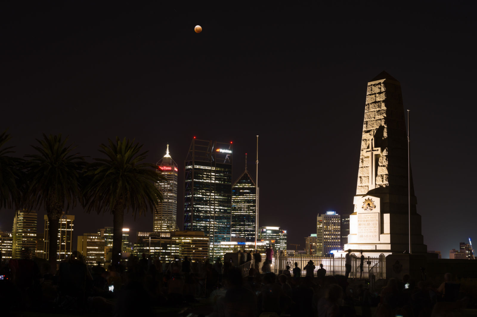 Perth City Skylines 2018