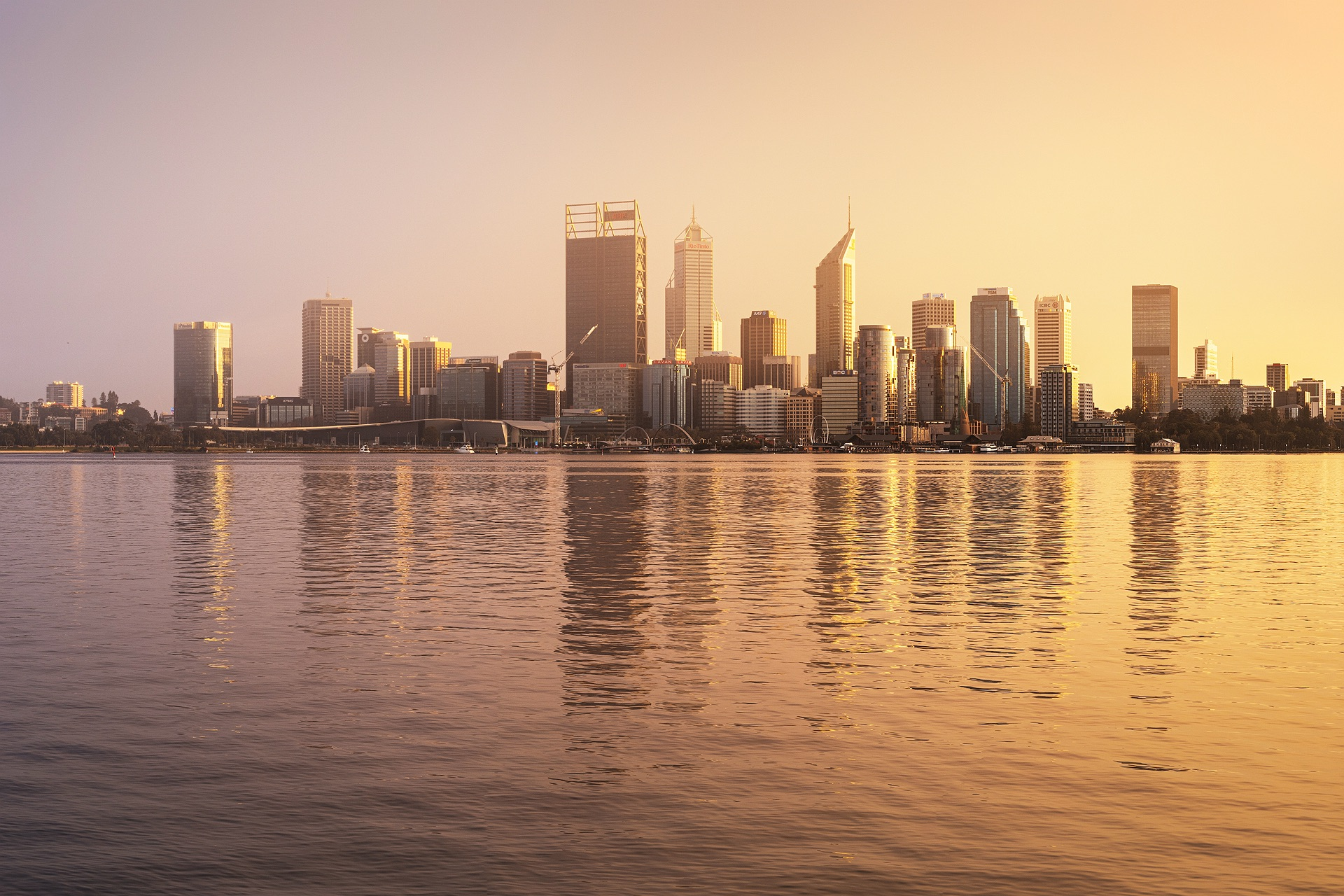 Perth City Skyline 2020