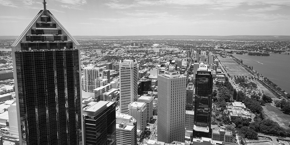 Perth from Brookfield Place