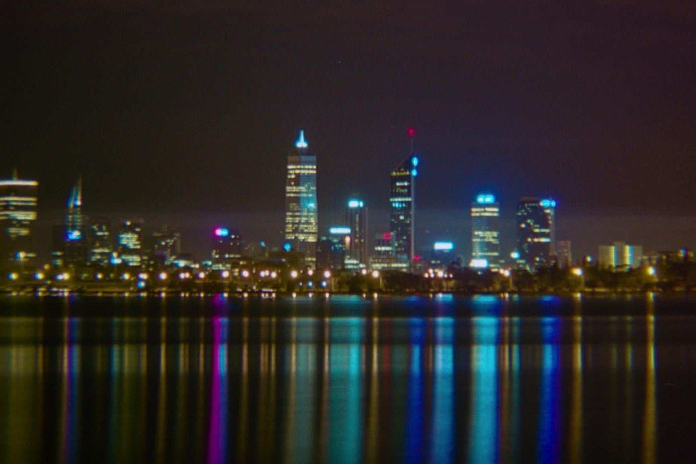 Old photos of Perth City's Skyline