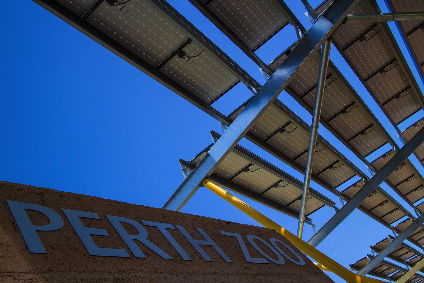 Perth Zoo Solar Panel Shades